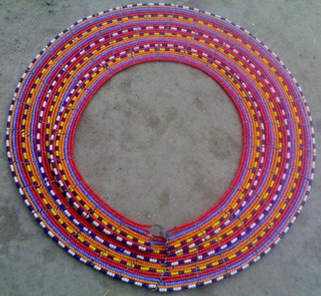 Maasai beaded necklaces