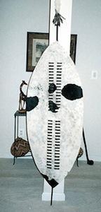 shaka style african shield