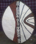 Maasai War Shield  24062009593