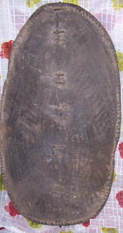African Antique Shield Luo War Shield