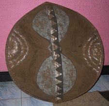 MAASAI WAR SHIELD Antique Maasai Warrior (Moran)