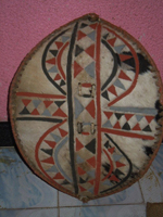 MAASAI WAR SHIELD Maasai Senior Warrior (Moran)
