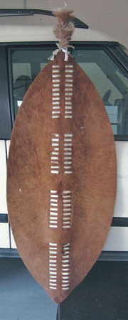 Zulu War Shield