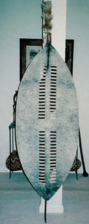 Zulu War Shield Shaka Style