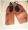 Genuine Cowboy Chaps from the King Ranch